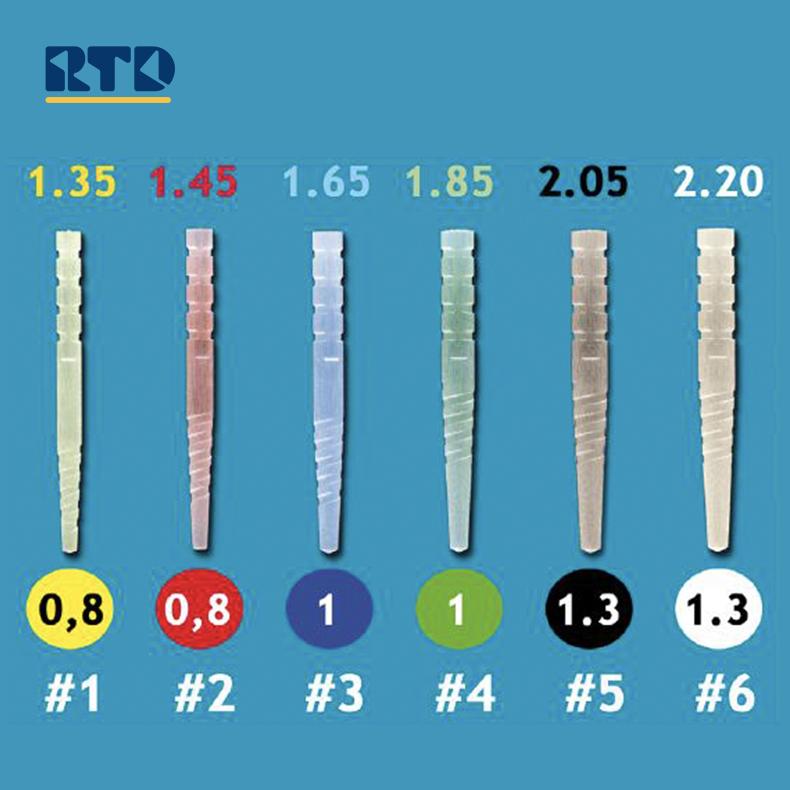 MACRO-LOCK X-RO 高强度石英温控变色纤维桩